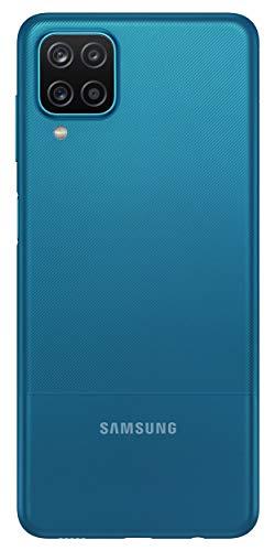 Samsung Galaxy M12 (Blue,4GB RAM, 64GB Storage) 6000 mAh with 8nm Processor | True 48 MP Quad Camera | 90Hz Refresh Rate
