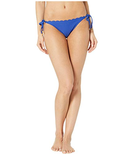Heidi Klein Amoudi Bay Scallop Tie Side Bottoms Blue XS