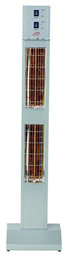BURDA BHST3024-3 Heizstrahler 3,0 kW silb. low glare IP24 - 2