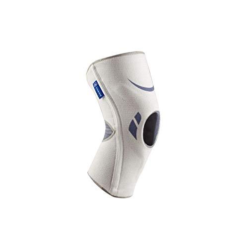 Rodillera Silistab Genu Blanca T/4 40-42 cm - Refuerza la Articulación ✅