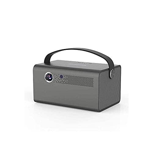 HRRF PROYECTOR Mini PROYECTOR, 1080p y 170 '' Pantalla Compatible con el proyector de películas portátiles con 40,000 hrs LED Lámpara Vida, Compatible con TV Stick,