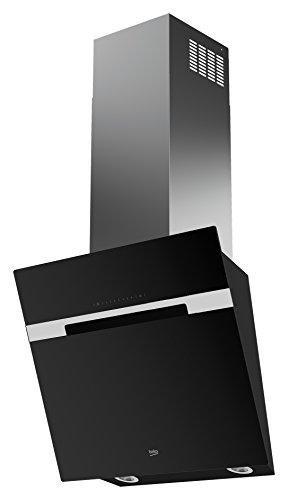 Beko HCA62844BH Kaminhaube / 59,80 cm/Wandmontage - 60 cm breit/schwarz