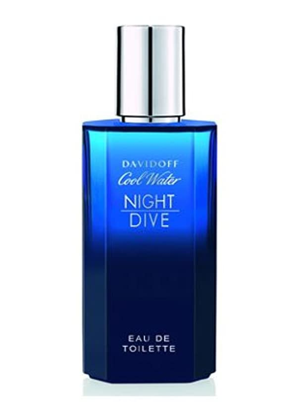 やろう影響力のある朝Cool Water Night Dive (クール ウオーター ナイト ダイブ) 4.2 oz (126ml) EDT Spray by Davidoff for Men