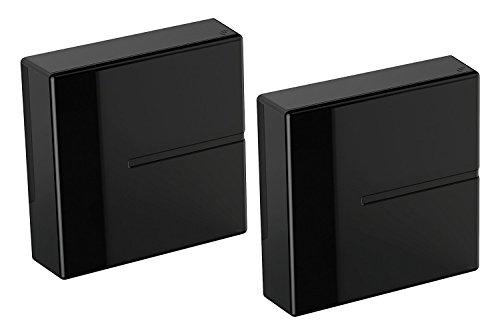 Meliconi Ghost Cubes Cover Sistema Copricavi Componibile, Nero