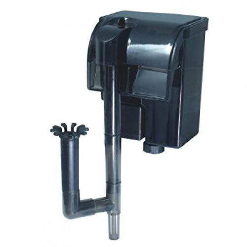 Nicepets ® – Mini Filtro pequeño para Acuario y pecera de Mochila Externo con Sistema de Cascada para filtración de Agua en acuarios y peceras con Peces o Tortugas. Potencia 300 litros Hora y 2W