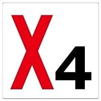 【ユニット】通り芯表示板X4 [品番:346-041]