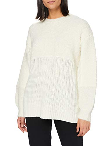 OPUS Damen Pity Pullover, Soft Cream, L