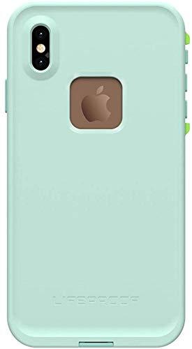 Lifeproof FRĒ Series Waterproof Case for iPhone Xs Max -Non Retail Packaging - Tiki (FAIR Aqua/Blue Tint/Lime)