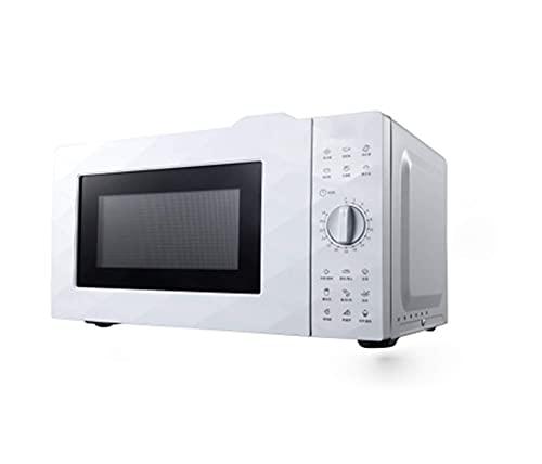 Horno de microondas de 20 l, cocción rápida de 600 vatios/descongelación rápida/Revestimiento de nanocapas/fácil de Limpiar/Adecuado para la Cocina y la Oficina del hogar