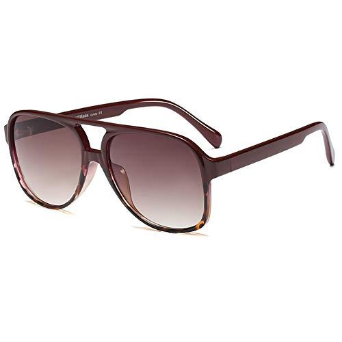 Grainas Gafas de sol vintage de los años 70 para mujeres y hombres, montura grande, gafas clásicas retro cuadradas, protección UV400