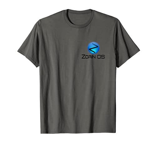 Linux Zorin OS tee con Tagline y Logo Open Source Os Camiseta