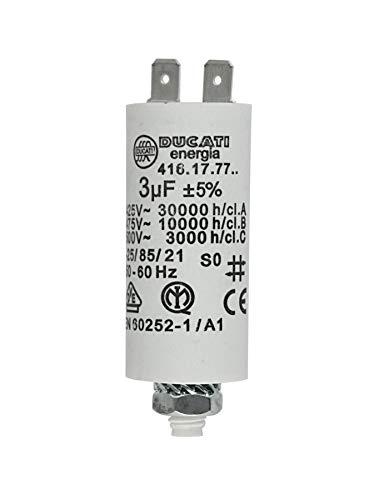 MKP Kondensator Motorkondensator Anlaufkondensator Betriebskondensator 3,0uF >400V