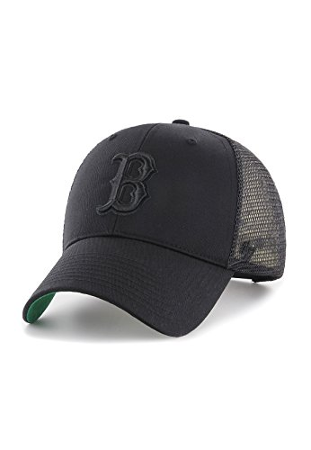 Gorra trucker negra con logo negro de Boston Red Sox MLB MVP...