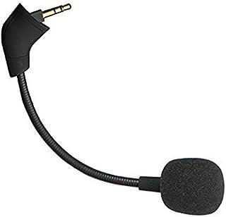 REYTID Micrófono de reemplazo Compatible con Auriculares de Juego con cancelación de Ruido HyperX Cloud, Cloud X y Cloud II