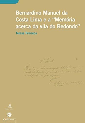 Bernardino Manuel da Costa Lima Memória acerca da