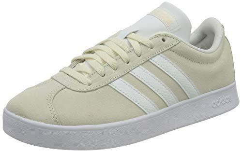 adidas VL Court 2.0, Zapatillas de Deporte Mujer, BLACRE/FTWBLA/Gridos, 42 2/3 EU