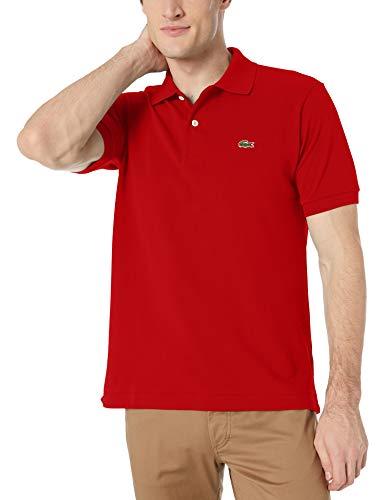 Lacoste L.12.12 - Polo de manga corta para hombre, Rojo, Medium