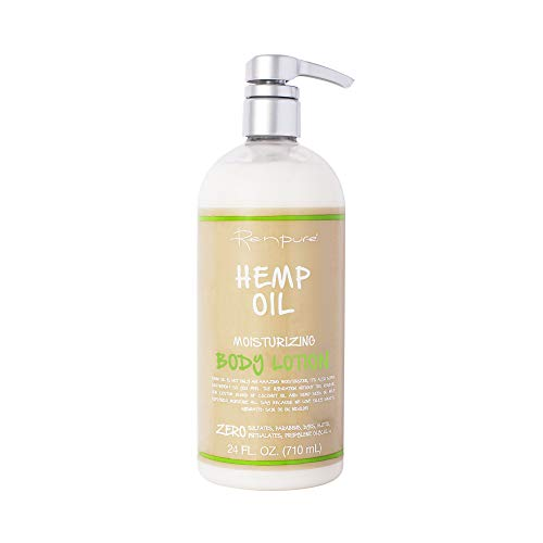 Renpure Originals hemp oil body lotion, 24 Ounce
