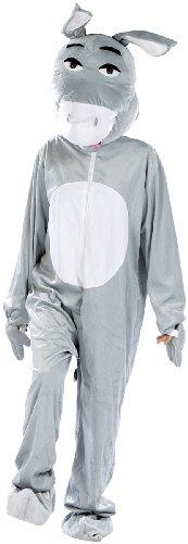 infactory Costume d'âne en Fourrure synthétique