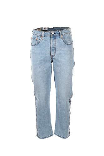 Jeans Levis 501 Crop Dibs Femme 2928 Bleu