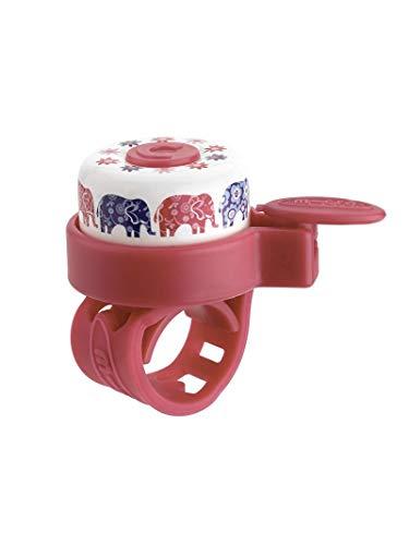 Mikro Klingel, Unisex, Elefanten (Mehrfarbig), Einheitsgröße