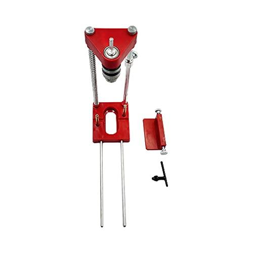 Localizador de perfura??o portátil Mini Furadeira de bancada Máquina multifuncional vermelha 28 * 9,5 * 22 cm