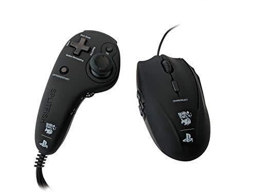 SplitFish FragFX Piranha PS4 - Sony offiziell lizenziert (PS4/PS3) - Maus für die PS4