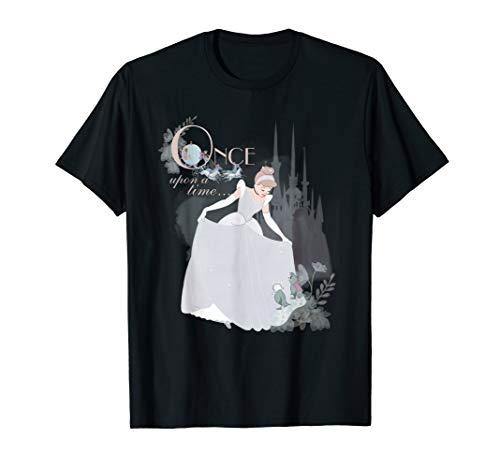 Disney Princess Cinderella Vintage Once Upon a Time T-Shirt