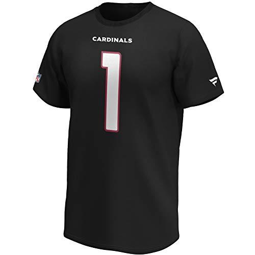 Fanatics NFL T-Shirt Arizona Cardinals Kyler Murray #1 schwarz Iconic Name & Number Trikot Jersey (M)