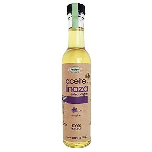 Enature Aceite de Linaza Extra Virgen, 235 g