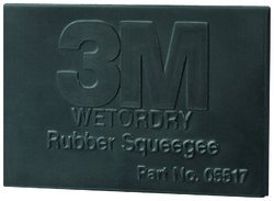 3M 5517-Ea 2.75 X 4-0.25 Squeegee 4-0.25 in. X 2.75. Squeege
