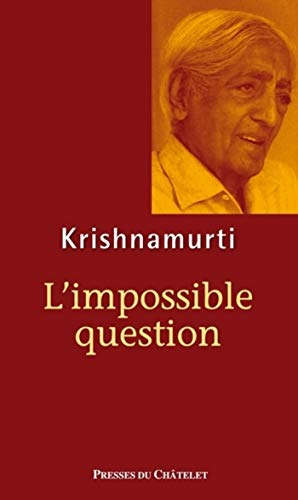 L'impossible question (Spiritualité)