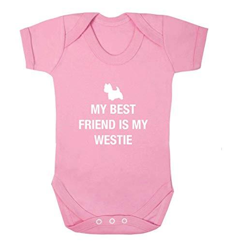 Flox Creative Gilet pour bébé Best Friend Westie - Rose - XS
