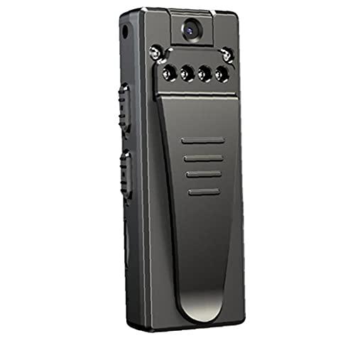 NiceJoy Mini cámara de vídeo grabadora de Voz Pequeños Wireless Mini cámara de vídeo de 1080P Negro Seguridad