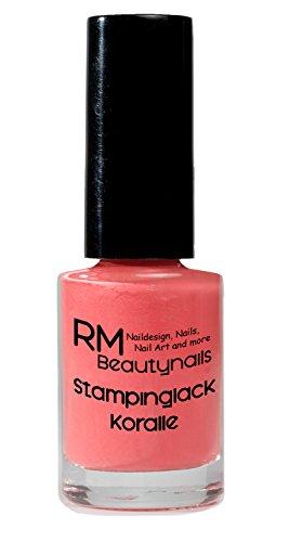 stampinglack Coral 4ml Esmaltes esmalte esmalte de uñas Nail Polish RM beautynails