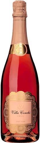 Villa Conchi Brut Rosé, Vino Espumoso, 6 Botellas, 75 cl