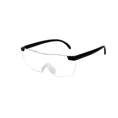 Frameloze leesbril, draagbaar voor de Ouderen Lezen, Hobby's, Computer Repair en Sieraden Loupe.