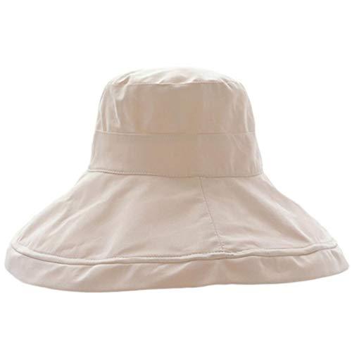 Zonnekleppen MYKK Zomer Mode Dames Meisje Zonnehoed CAPS Opvouwbaar Katoen Dames Breed STRAH Hoeden Outdoor Vrije tijd Strandhoeden Zonbescherming