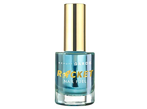BeautyGARDE Rocket Nail Fuel - Nail Repair, Strengthening and Growth Treatment (0.5 Fl Oz), Nonie Creme