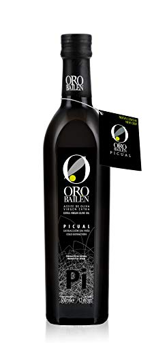 6 botellas x 500 ml - Oro bailen Reserva Familiar Picual- Aceite de oliva virgen extra