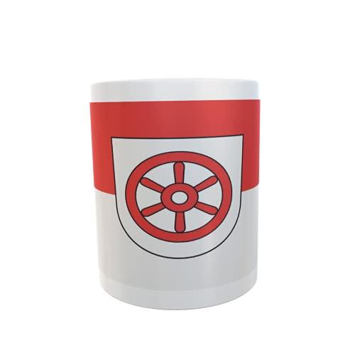 U24 Tasse Kaffeebecher Mug Cup Flagge Osterburken