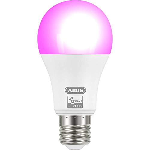 ABUS Z-Wave 84153 - Lampadina a LED E27 RGBW