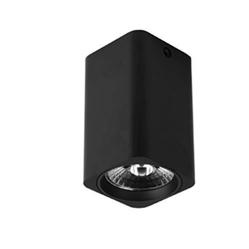 Projecteur de plafond moderne éclairage intérieur salon lampe chambre cuisine cylindre en métal LED approprié GU10 12 watts, TP150L-1D