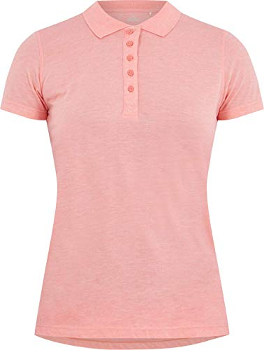 MC KINLEY Mckinley Polo Pellew Femme Polo Femme Melange/Red Light FR : S (Taille Fabricant : 38)