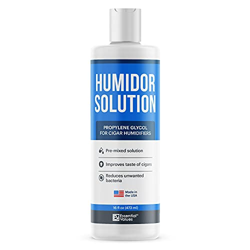 Humidor Solution 16oz Propylene Glycol For Humidifiers By Essential Values