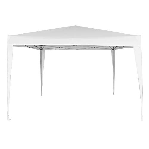 Aktive 62187 - Cenador plegable blanco poliéster UV50 300 x 300 x 240 cm Beach
