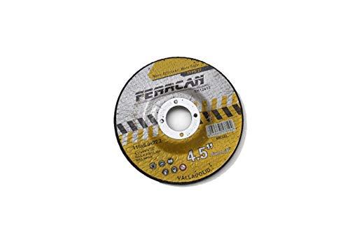 Disco de desbaste para metal 115x6 (paquete de 5 unidades)