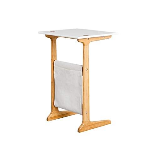 ZWD Home Office Tafel, Hout Het kan bewegen Koffietafel voor de woonkamer, boeken, kamerpartment, balkon, klein computerbureau, meubel