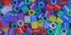 Perler Beads Bulk Buy 4-Pack Special price Glitter Direct stock discount 1000 Mix Pack PBB80
