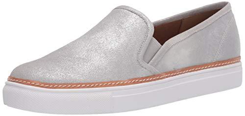 Aerosoles Women's Newburgh Sneaker, Silver Metallic, 9 M US